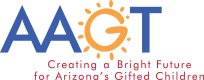 Arizona Association for Gifted and Talented Logo